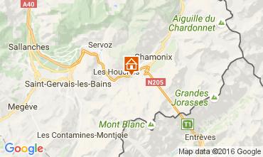 Mapa Chamonix Mont-Blanc Chalé 106440