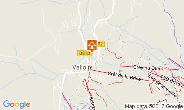 Mapa Valloire Apartamentos 107444
