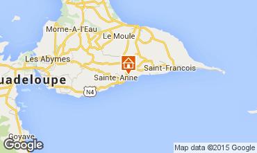 Mapa Sainte Anne (Guadalupe) Casa de turismo rural/Casa de campo 27568