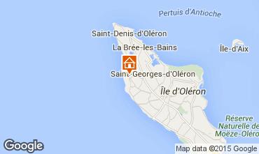 Mapa Saint Georges d'Oléron Casa 63363