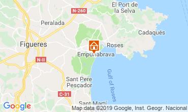 Mapa Empuriabrava Casa 94535