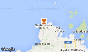 Mapa Santa Teresa di Gallura Apartamentos 99026