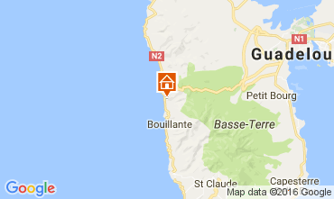 Mapa Bouillante Casa de turismo rural/Casa de campo 106987