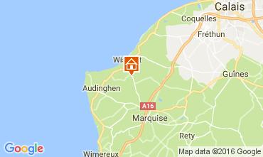 Mapa Wissant Casa 103820