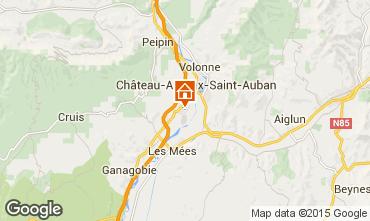 Mapa Sisteron Est�dio 97859