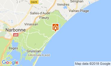 Mapa Saint Pierre la Mer Casa 115048