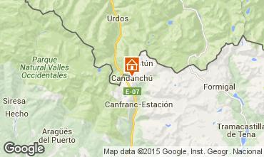 Mapa Candanch� Apartamentos 74859