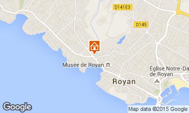 Mapa Royan Apartamentos 84960