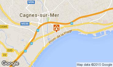 Mapa Cagnes sur Mer Estúdio 97503