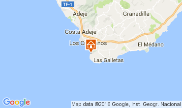 Mapa Los Cristianos Apartamentos 103218