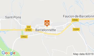 Mapa Barcelonnette Apartamentos 4866