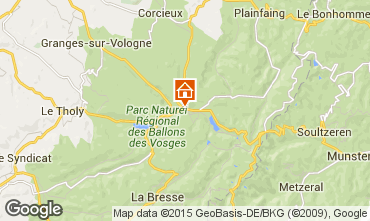 Mapa Gérardmer Chalé 60405