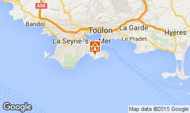 Mapa Saint Mandrier sur Mer Estúdio 62076