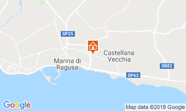 Mapa Marina di Ragusa Apartamentos 116389