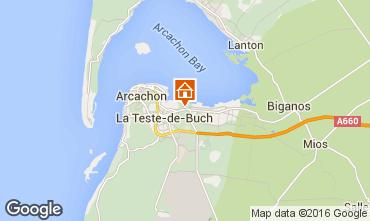 Mapa Arcachon Casa 103042