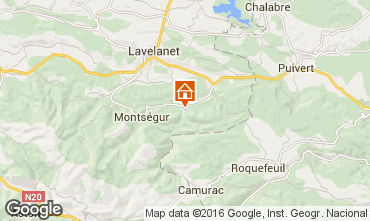Mapa Mirepoix Casa de turismo rural/Casa de campo 103273