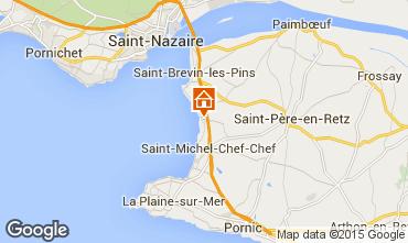 Mapa Saint Brevin les Pins Mobil Home 46634