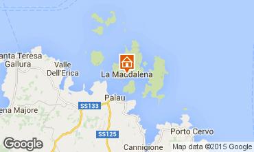 Mapa La Maddalena Apartamentos 88384
