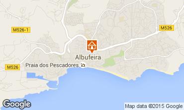 Mapa Albufeira Apartamentos 78175