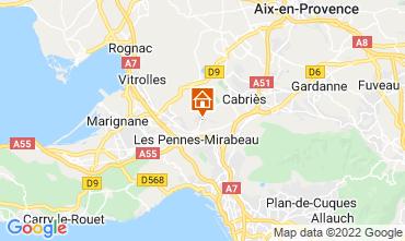 Mapa Aix en Provence Casa 87754