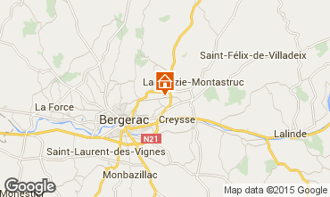 Mapa Bergerac Casa 100823