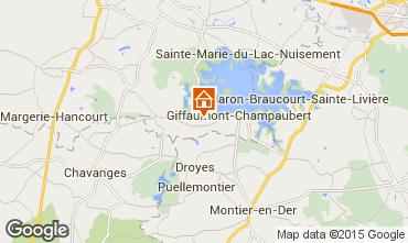 Mapa Giffaumont-Champaubert Casa de turismo rural/Casa de campo 39052