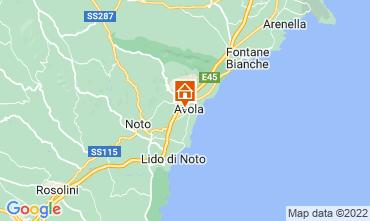 Mapa Avola Apartamentos 57459