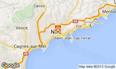 Mapa Nice Apartamentos 87627