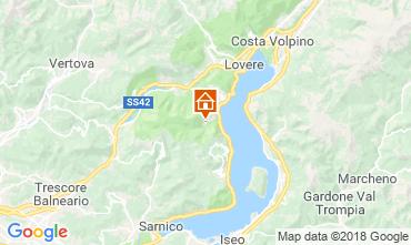 Mapa Riva di Solto Apartamentos 113416