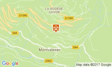 Mapa La Rosi�re 1850 Apartamentos 81095