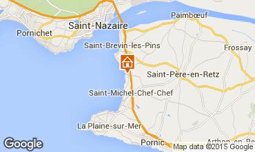 Mapa Saint Brevin les Pins Mobil Home 98311