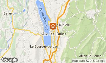 Mapa Aix Les Bains Apartamentos 80483