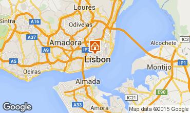 Mapa Lisboa Apartamentos 91900