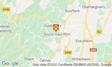 Mapa Bollwiller Casa de turismo rural/Casa de campo 96647