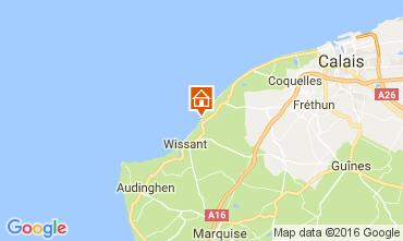 Mapa Wissant Vivenda 106827