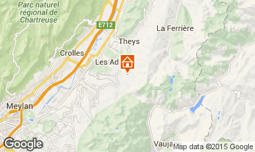Mapa Les Sept Laux Apartamentos 69719