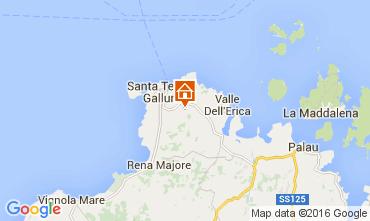 Mapa Santa Teresa di Gallura Vivenda 82142