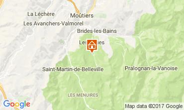 Mapa Méribel Chalé 111804
