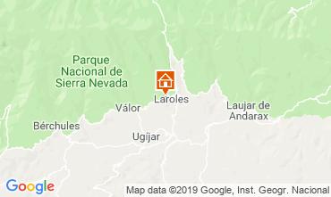 Mapa Laroles Casa de turismo rural/Casa de campo 83882