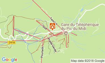 Mapa La Mongie Estúdio 4305