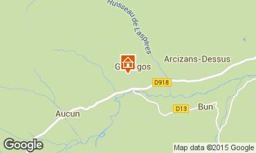 Mapa Val d'Azun Casa de turismo rural/Casa de campo 27762