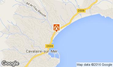 Mapa Cavalaire-sur-Mer Apartamentos 102534