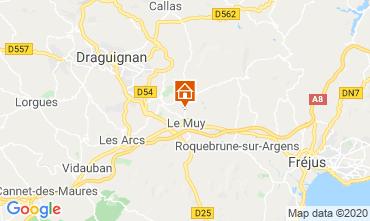 Mapa Saint Aygulf Vivenda 116281