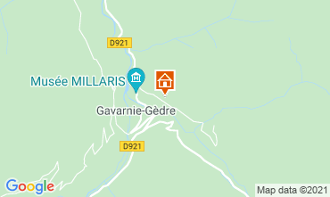 Mapa Gavarnie Gèdre Casa de turismo rural/Casa de campo 65880