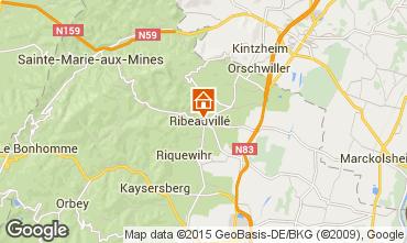 Mapa Ribeauvillé Apartamentos 79825