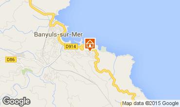 Mapa Banyuls-sur-Mer Apartamentos 87545