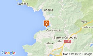 Mapa Ajaccio Vivenda 105031