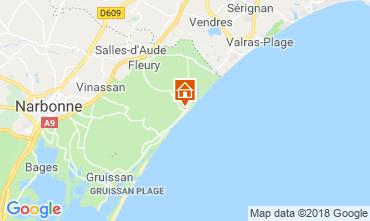 Mapa Saint Pierre la Mer Vivenda 116577