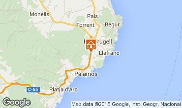 Mapa Calella de Palafrugell Vivenda 99245