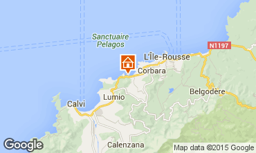 Mapa Calvi Casa 99555